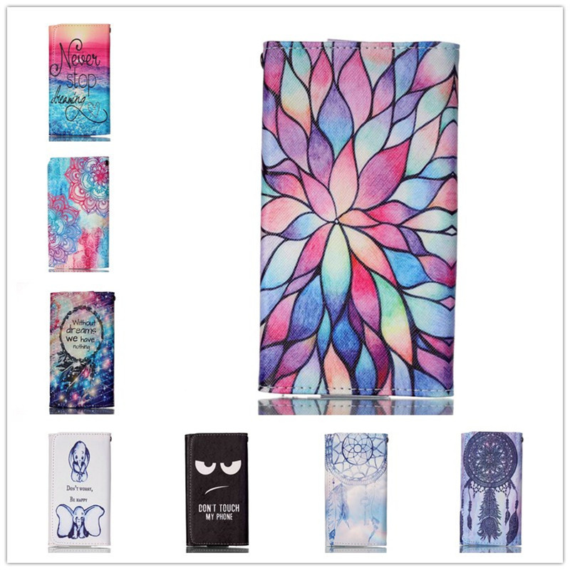 For Posh Mobile Lynx A100 Case Mobile Phone Cases High Quality Fashion Painting Leather Wallet Case Free Shipping(China (Mainland))