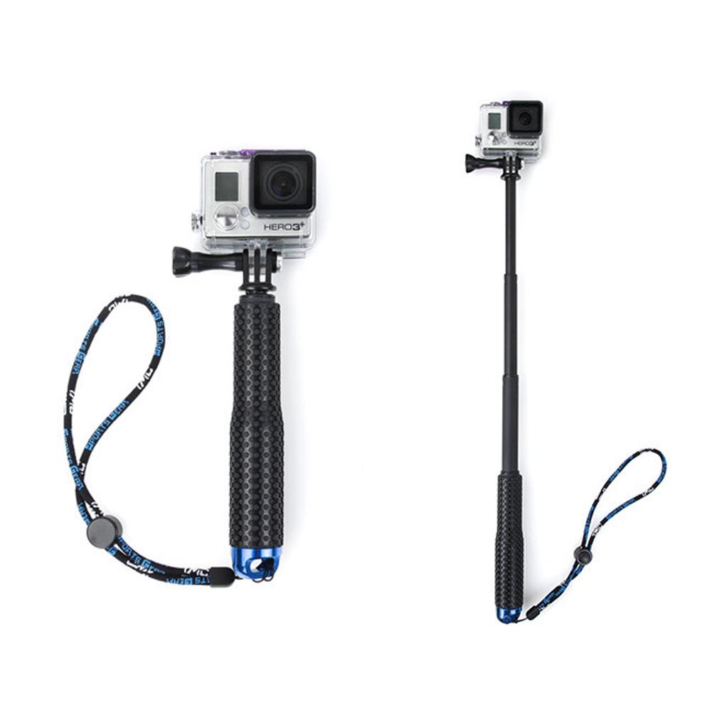 Выдвижная Алюминий внутриполостного Selfie Stick с Bluetooth Контролируемая ручным aeProduct.getSubject()