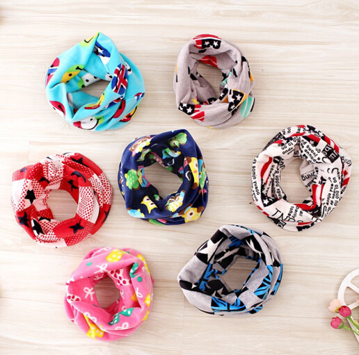 Гаджет  Newest High quality autumn Winter kids collar Baby scarf cotton Boys and girls Kids O ring child neck Scarves None Одежда и аксессуары