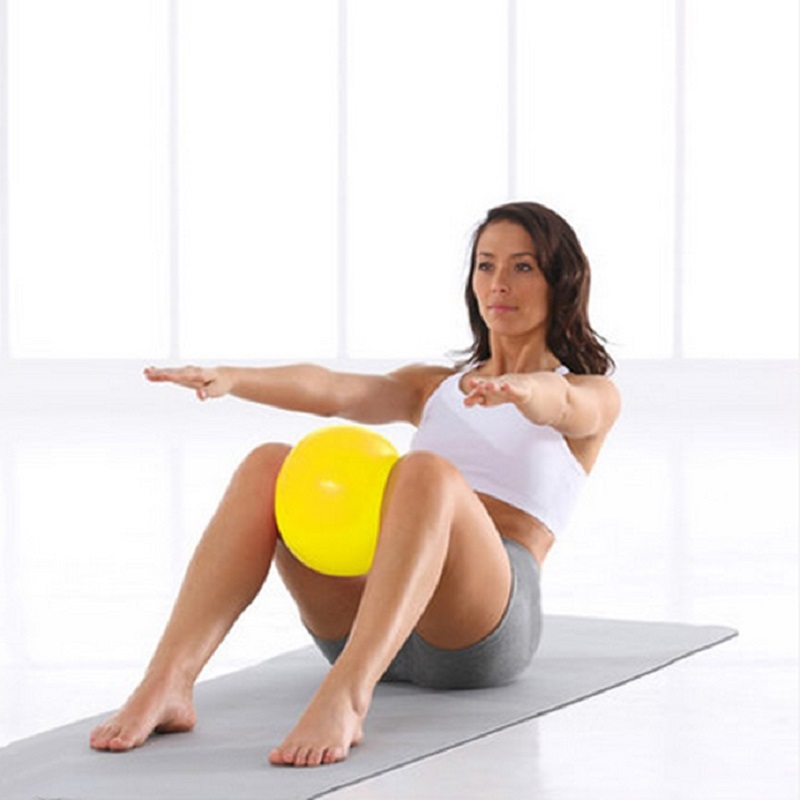 Mini Yoga Ball Physical Fitness ball for fitness Appliance Exercise balance Ball home trainer balance pods GYM YoGa Pilates 25cm(China (Mainland))
