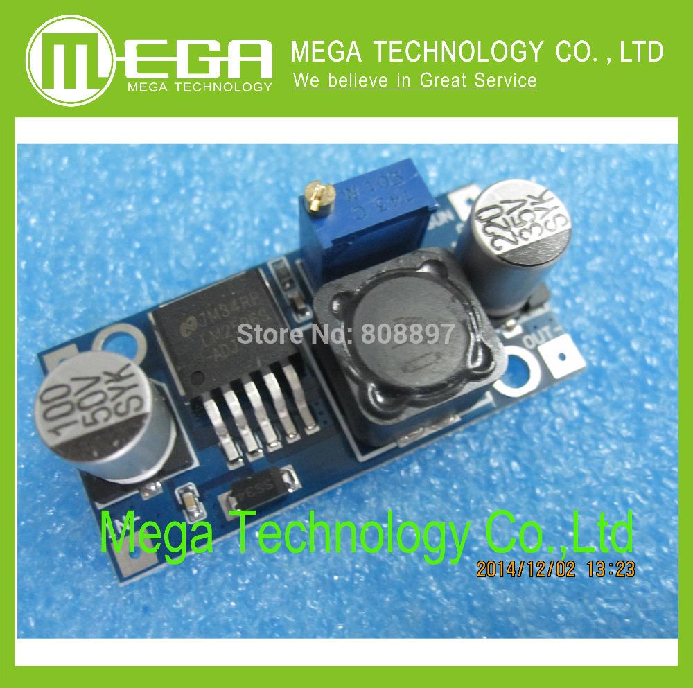 1pcs,LM2596 LM2596S DC-DC 3-40V adjustable step-down power Supply module NEW Integrated Circuits(China (Mainland))