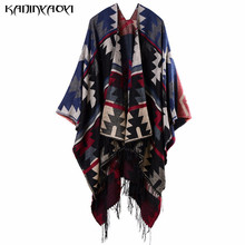 2016 Autumn And Winter Blanket Poncho Scarf Prorsum Cashmere Wool Scarf Cape Winter Bufanda Manta Tartan Zigzag Twill Scarves