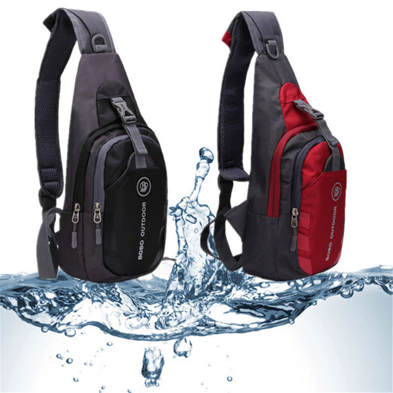 High Quality Men Women Waterproof Sport Casual Running Outdoor Cross Body Bags Nylon Chest Pouch Bag Shoulder Bags Sling New(China (Mainland))