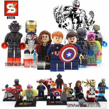 SY275 Marvel The Avengers 2 Age of Ultron Action Figures Ultron Captain America Ironman Scarlet Witch Vision action figure(China (Mainland))