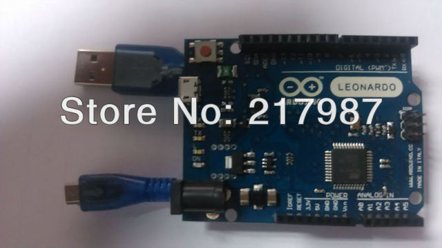 100% new For Arduino Leonardo R3 ATmega32u4 Microcontroller Board 16 MHz for Arduino