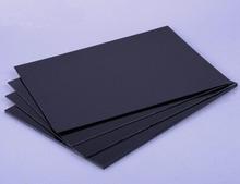 1pcs 10mm * 300mm * 400mm Black Foam Foamalux PVC Flat Sheet Material Board Modle Plate #A262h(China (Mainland))