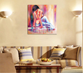 Home Decoration Digital Modern Oil Painting On Canva Frameless Painting By Number Handmade Picture Modern Shadow