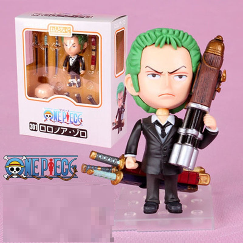 One Piece Anime Figuarts Zoro D Luffy Action Figure PVC Onepiece Roronoa Fighting Ace Doll can face transplant toy