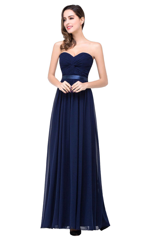 Online Get Cheap Strapless Navy Blue Prom Dress -Aliexpress.com ...