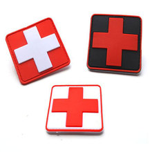 Outdoor Products Pvc Patch Armband The Medical Rescue Of The Red Cross Chapter Morale Military Patches Badges