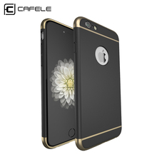 CAFELE Case for iphone 6s cases Luxury Original Back cover for Apple iphone 6s Plus case PC Hard Armor shell Logo hole(China (Mainland))