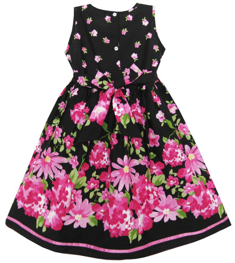 hot pink flower girl dress № 139465