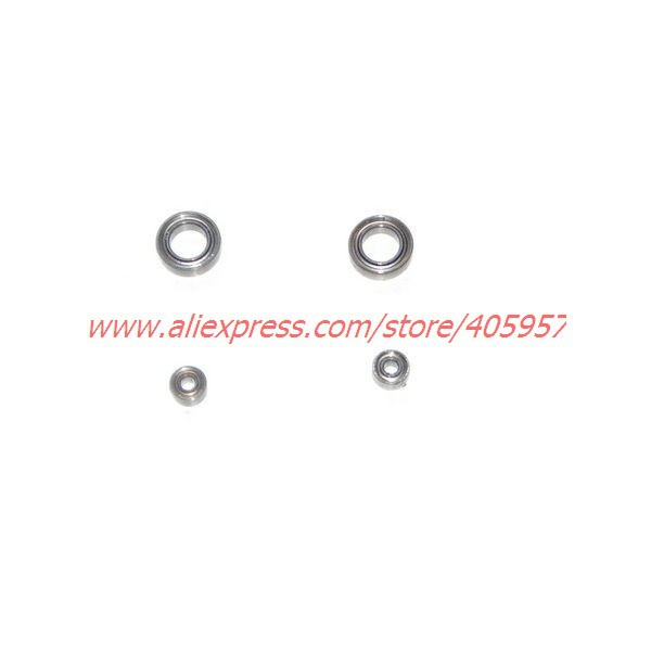 LT 712 rc helicopter spare parts  Bearing set (2pcs big bearing + 2pcs small bearing)   free shipping