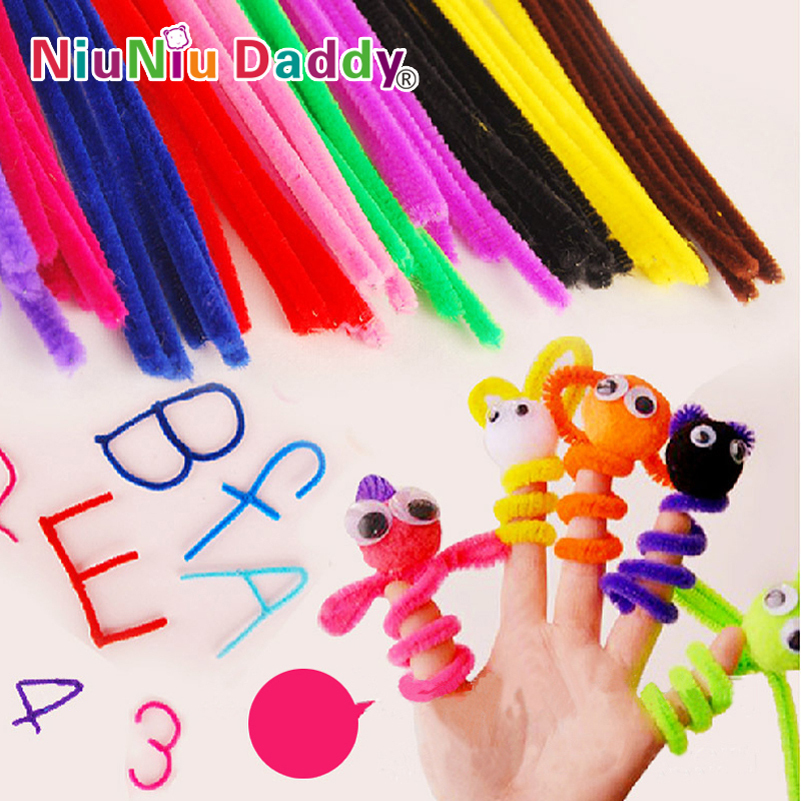 100pcs set plush stick children 39 s educational toys diy for Arts and crafts sets for toddlers