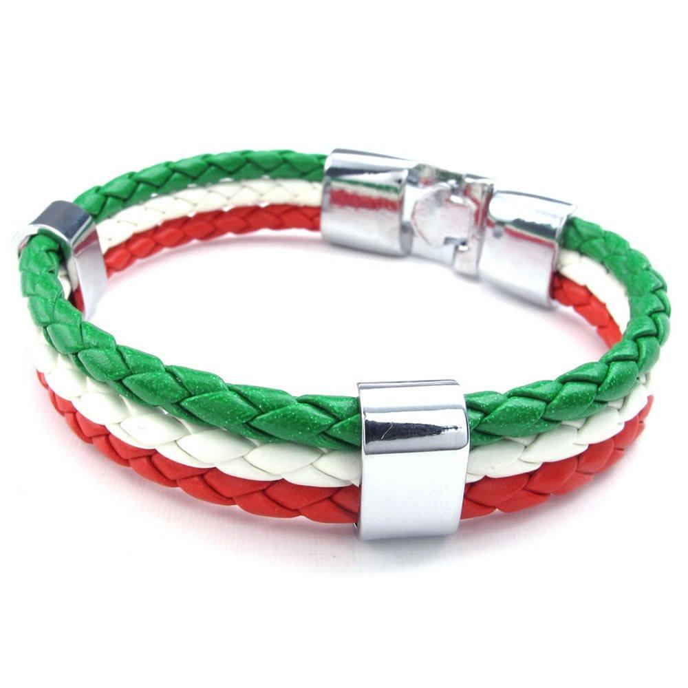 Italian Bracelets Jewelry 50 Italy Flag Friendship Bracelets