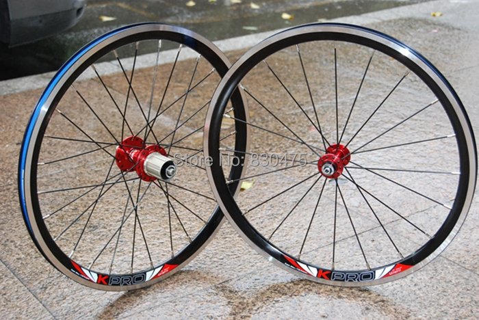 Litepro cump fun 20inch 406 wheel set BMX V brake wheel set for sp8 vp18 novatec hubs 74mm/130mm<br><br>Aliexpress