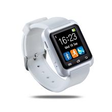 Бесплатная доставка bluetooth-смарт часы Smartwatch reloj смартфона для iPhone 4 5S 6 плюс Samsung Huawei Xiaomi HTC
