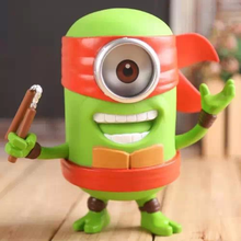 New 20cm despicable me minion cos teenage mutant ninja turtles pvc action figure collectible model toy doll brinquedos juguetes