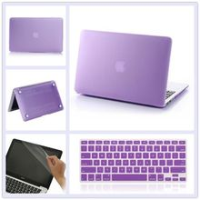 NEW 3in1 Matte Case For Apple macbook Air Pro Retina 11 12 13 15 laptop bag For Mac book 13.3 inch free shipping(China (Mainland))