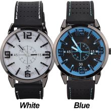 Men Watch 2015 Quartz Watch with Rubber Strap Band Wrist Watchest Men Gift Free Shipping PMPJ579
