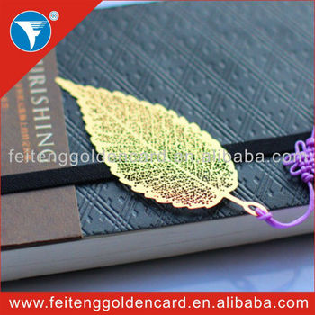 New items leaves shape magnetic bookmark  designs for kids