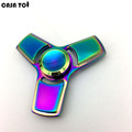 Hand Spinner Tri-Spinner Fidget Toy Plastic EDC Sensory Fidget Spinners For Autism And ADHD Kids/Adult Funny Anti Stress Toys