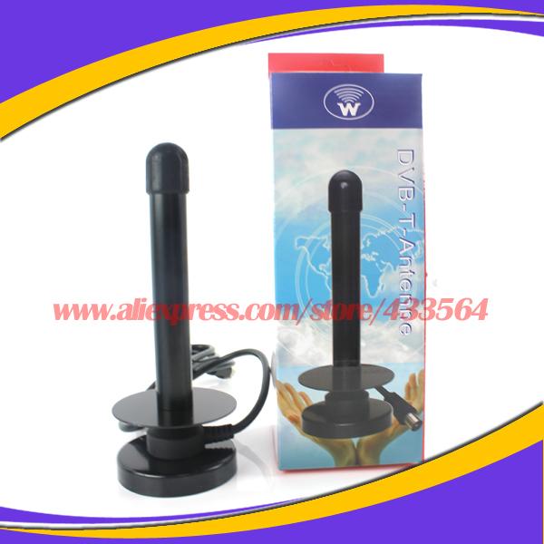 High Quality Tv Antenna HDTV DTV HD VHF UHF Dvb TV Antenna 16dBi Digital TV Antenne Free Shipping(China (Mainland))