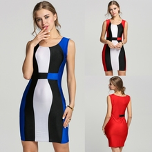 Buy 2017 Clothes Bandage Size Lady'S Clothing Party Patchwork Bodysuit Women Club Beach Summer Long Bodycon Dresses Women'S Dress for $6.48 in AliExpress store