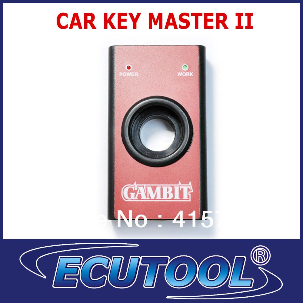 2013 Professional Gambit programmer CAR KEY MASTER II Auto Car Key Programmer+FREE SHIPPING
