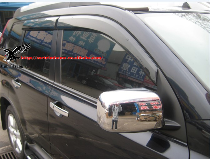 ABS Chrome Rearview Side Door Mirrors Cover Trim For Nissan X-Trail X Trail T31 08 09 10 11 12 2008 2009 2010 2011 2012 2013<br><br>Aliexpress