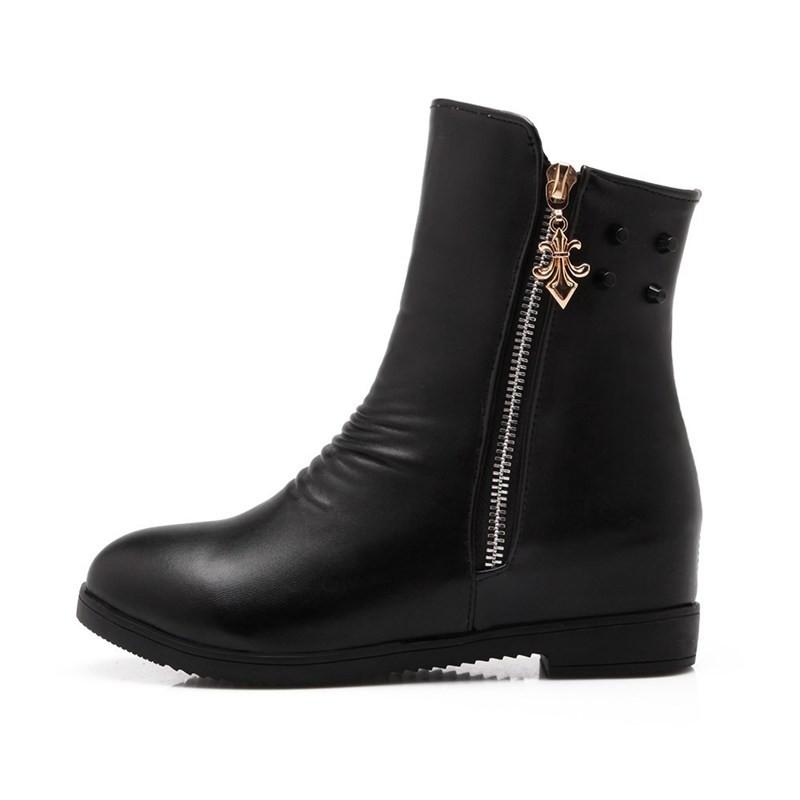 ซื้อ จัดส่งฟรี2016ใหม่เซ็กซี่เลดี้ลำลองรองเท้าข้อเท้าสั้นออกแบบแฟลตข้อเท้าของผู้หญิงรองเท้าหิมะSBT1659