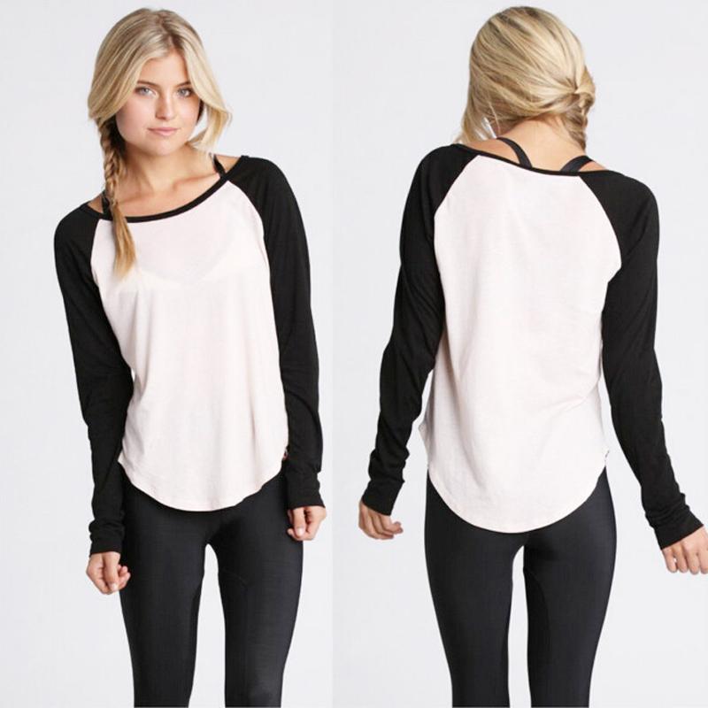 Camisetas mujer tee shirt women t shirt cotton t shirt for White long sleeve tee shirt womens