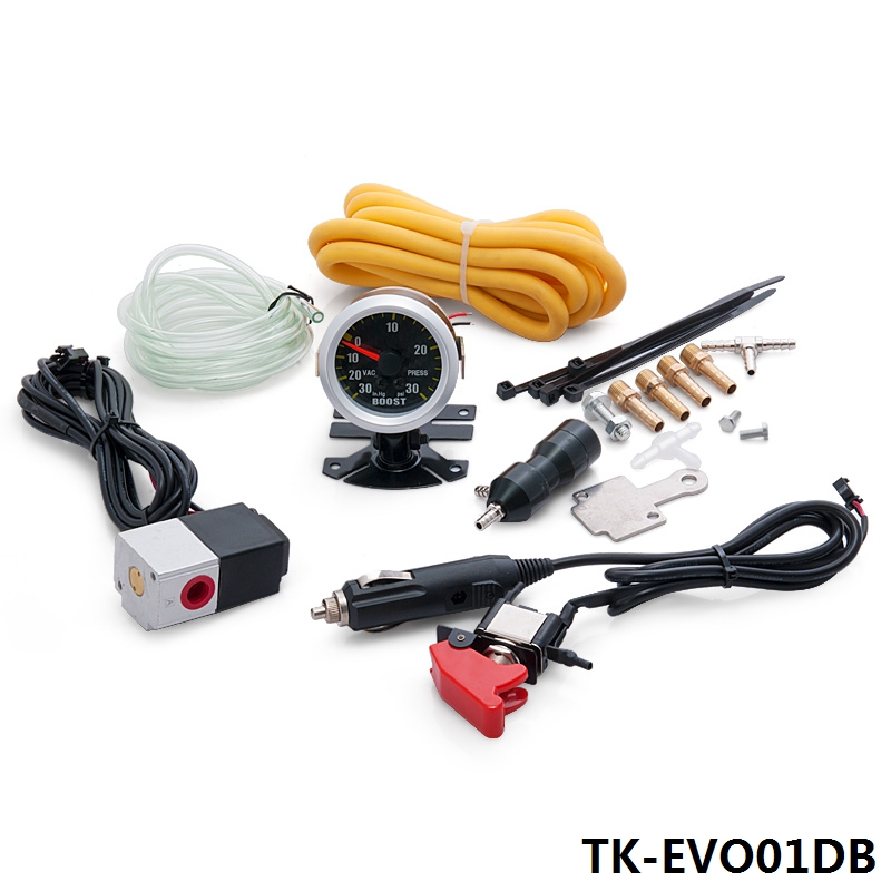 TURBO Manual Boost Controller Dual Stage Upgrade Kit NEW Release with gauge TK-EVO01DB<br><br>Aliexpress