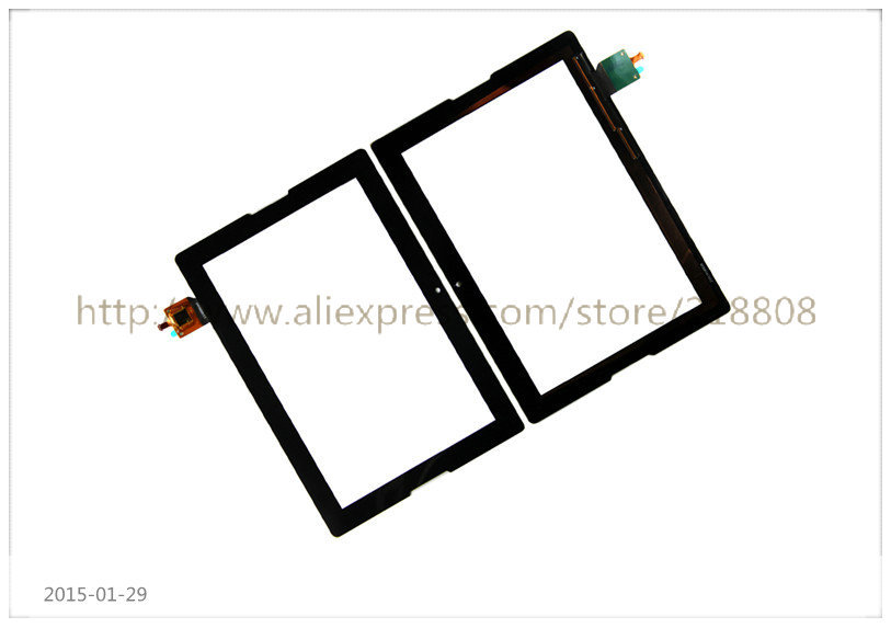 100% Original 10.1 inch Lenovo Tablet A10-70 A7600 Touch Screen Digitizer Glass Replacement black color - Phone Masters store