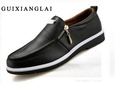 2016 Italian Style Men Flat Shoes Men Loafers Slip on Genuine Leather Shoes Casual Dress Shoes