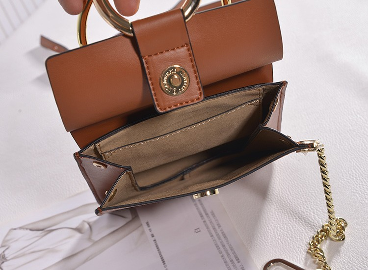 2016 Solid Bag Single Slot Pocket Interior Key Chain Holder Flap Real Direct Selling Sac Main Femme De Marque Luxe Cuir Borse
