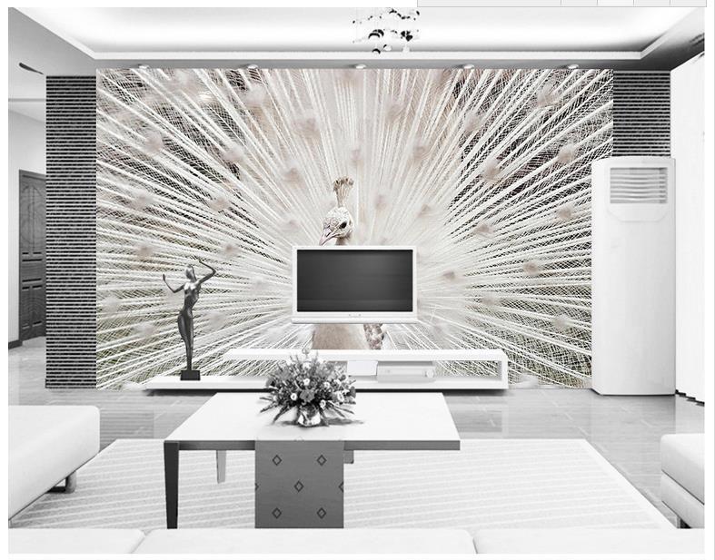 Murales de papel tapiz de escenas de fondo de estanque