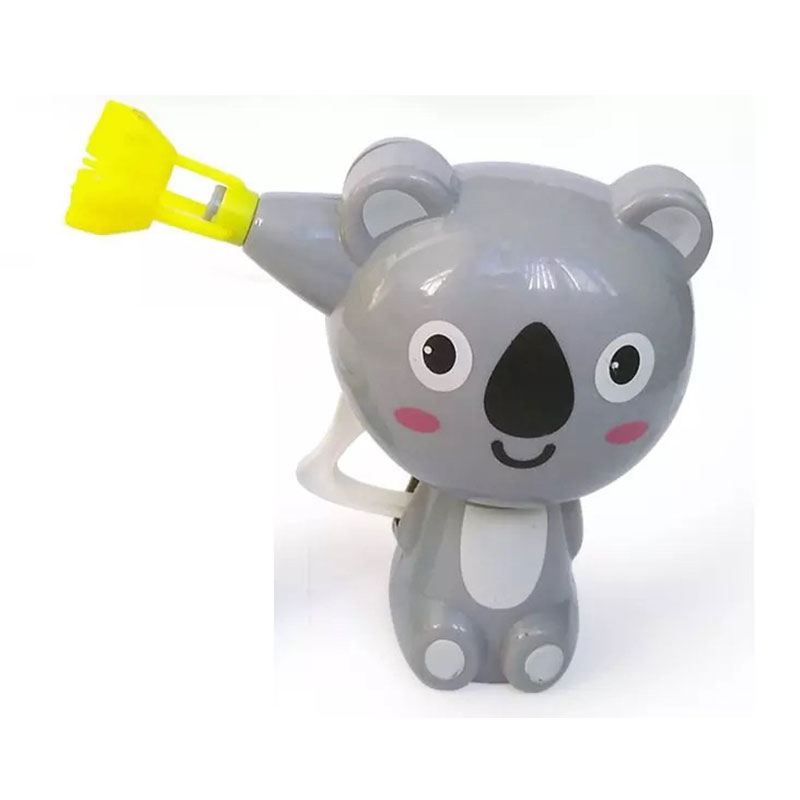 2017 Hot Sale Cartoon Animal Model Soap Water Bubble Gun Blower Machine Outdoor Toys For Children Gift