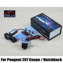 Peugeot 207 2D Coupe Cabriolet / 3D 5D Hatchback Special Laser Rear Fog Lamp 12V Auto Accessories Brake Parking Lights - Collo Automobile Club store