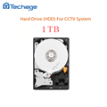 Techage Desktop Computer Hard Disk Drive HDD 1TB 1000GB 64MB 7200rpm sata3 for CCTV DVR NVR