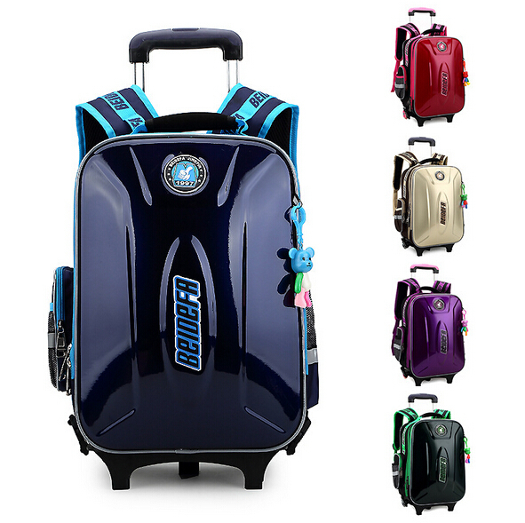 2015 new children school bags backpack mochila infantil bolsas waterproof trolley kids bag wheels &88038 - Top Selling Best Store store