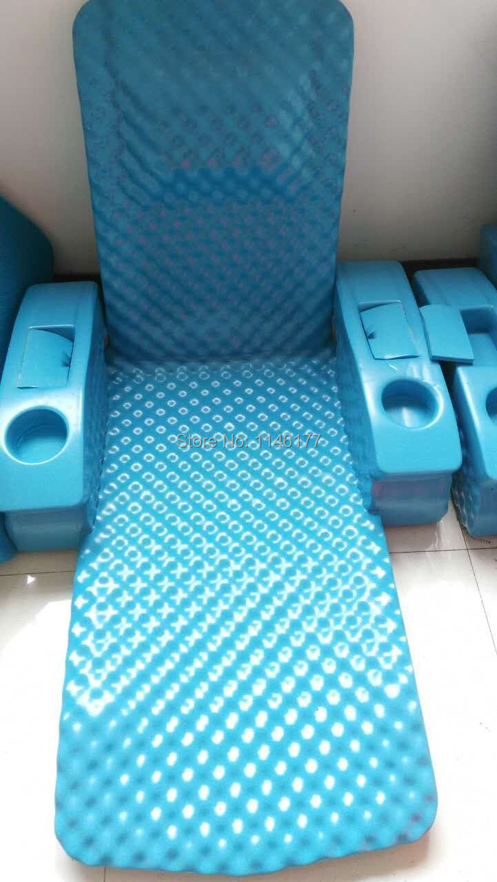 Swimming Sky Blue Bean Bag Bed Water fun outdoor hot spring water aqua loungers folding bed recliner chair factory(China (Mainland))