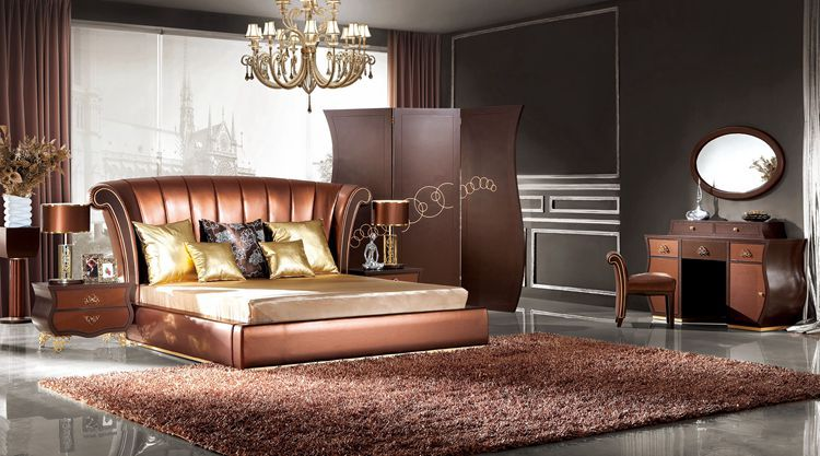Chambre design italien for Meuble design lit