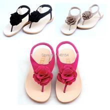 Girls Sandals Shoes For Girls Flip Flops Summer Children Shoes Floral Princess Sandalia Infantil Shoes Size