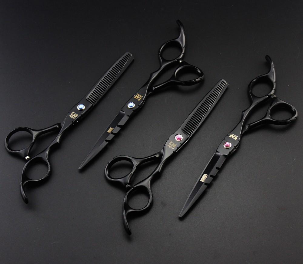Japan KASHO Profissional Hairdressing Scissors Hair Cutting Scissors Set Barber Shears Tijeras Pelo High Quality Salon 6inch