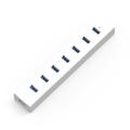 5 Gbps high speed Plastic 7 Ports DC cable Portable USB 3 0 HUB USB Splitter