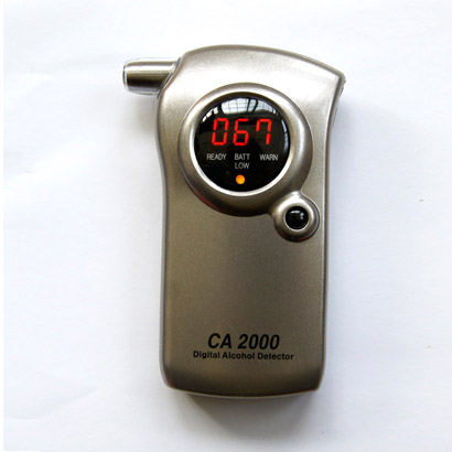 Blowing Alcohol Tester drunk driving alcohol detector portable breath testing instruments ca2000 formula(China (Mainland))