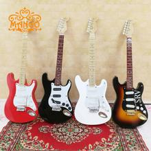 17 cm 1:6 dollhouse  miniature furniture instrument BJD. SD figures are Eva with wooden  of the electric guitar free shipping