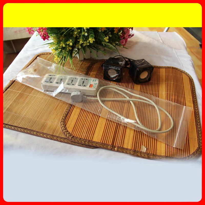 17 * 70 * 8 Transparent plastic storage bags ziplock bags 100 price ZF(China (Mainland))