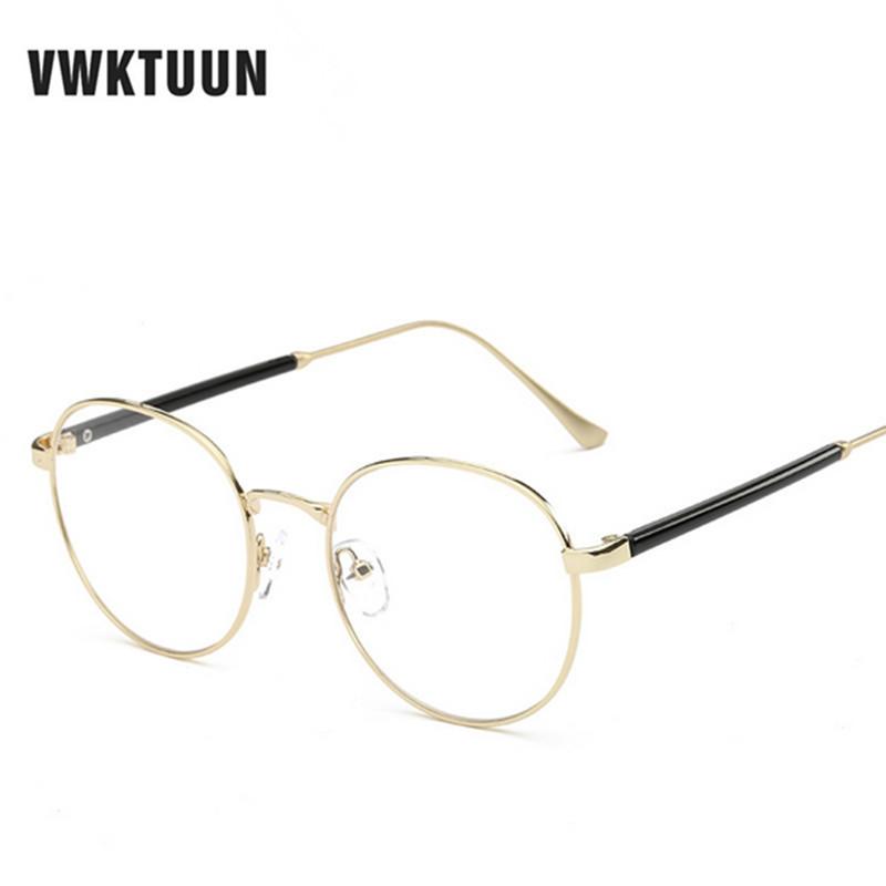 Clear Frame Glasses Vintage : VWKTUUN Steampunk Goggles Round Eyeglasses Vintage Glasses ...